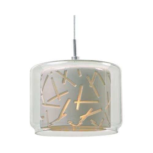 Aurora Glass Pendant - 4