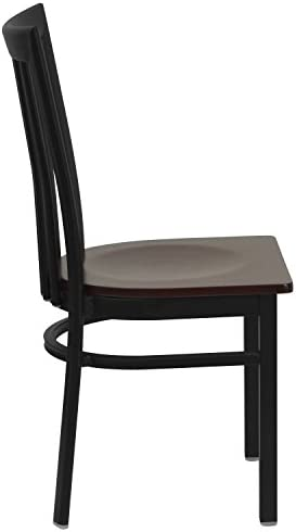 home, kitchen, furniture, kitchen, dining room furniture,  chairs 8 image Flash Furniture 2 Pk. HERCULES Series Black School promotion
