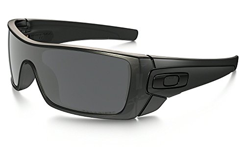 Oakley Batwolf Sunglasses Matte Black Ink with Black Iridium Polarized Lens + Sticker (Die Oakley Ideal)