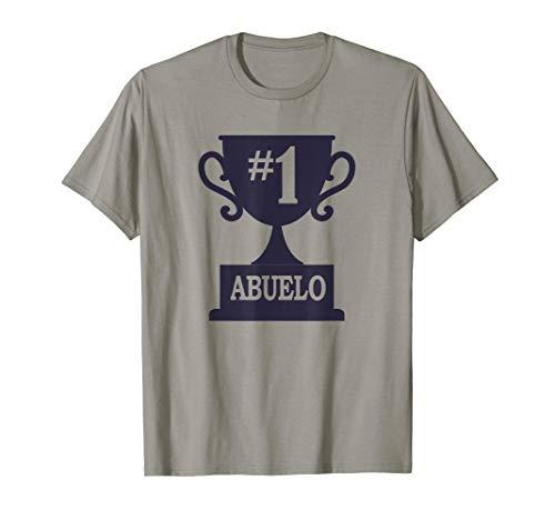 31a5b0b42 Number one numero uno abuelo y abuela t-shirts il miglior prezzo di ...