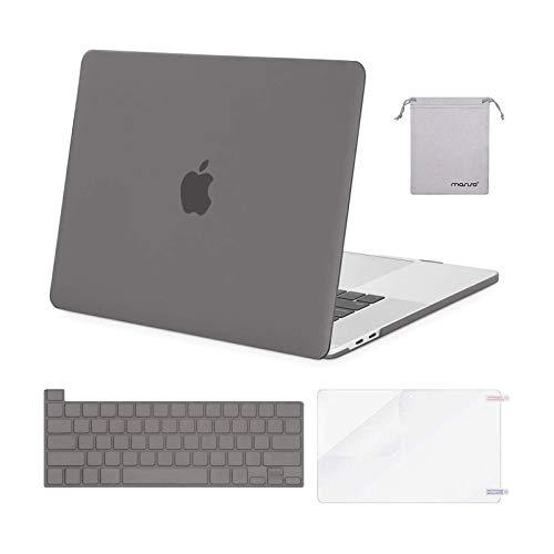 Carcasa Rigida para Macbook Pro 16 19/20 A2141 Gris