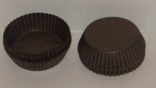 #601 Brown Paper Candy Cup Cups 200 Pack Candy Making Supplies