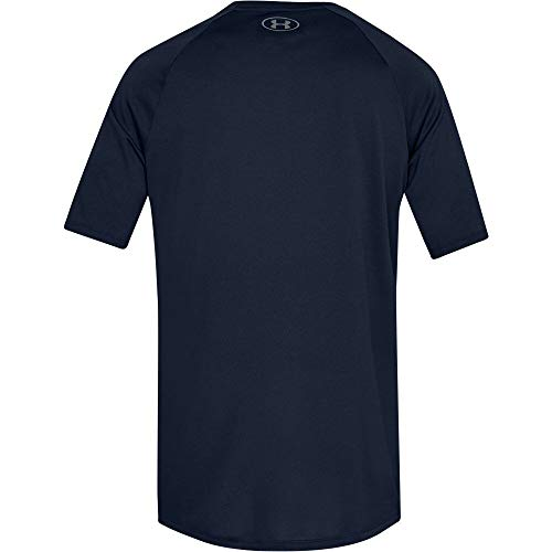 Under Armour Men's Tech 2.0 Short Sleeve T-Shirt, Academy (408)/Graphite, 3X-Large by Under Armour (Image #7)