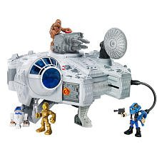 Jedi Force Millenium Falcon With Han Solo And Chewbacca from Star Wars