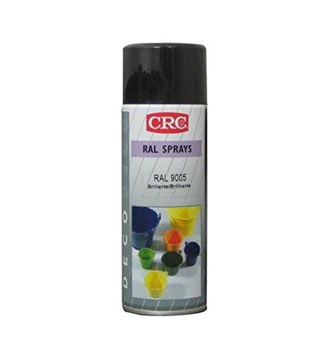 CRC 31308-AA Spray Pintura, Negro Brillo, 400 ml: Amazon.es: Bricolaje y herramientas