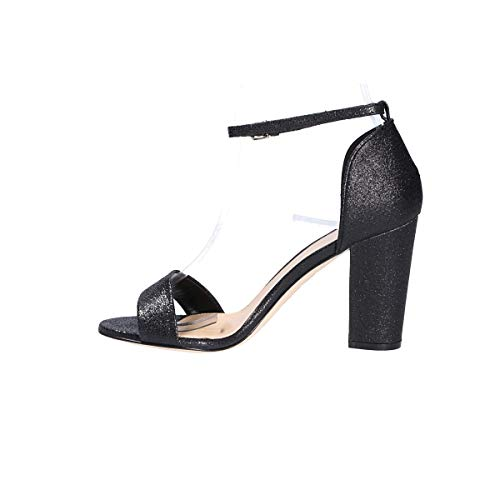Sandales Seller S5585black The Noir Femme Cuir qxOfww4U