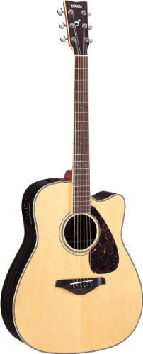 Yamaha FGX730SC Solid Acoustic Electric Guitar