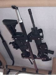 Quick-Draw Overhead Gun Rack for Tactical Weapons ( 42''-48'' rollbar width) by Great Day (Image #1)