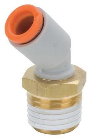 Male Pipe 45 Deg Elbow - Male Elbow, 45 Deg, 3/8 in., TubexMNPT
