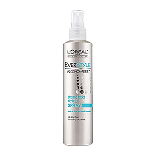 L'Oreal Paris EverStyle Strong Hold Styling Spray, Alcoho...