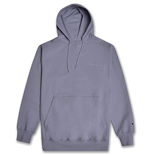 Champion Big and Tall Mens Pullover Hoodie Sweatshirt Vintage Wash Concrete 5XT