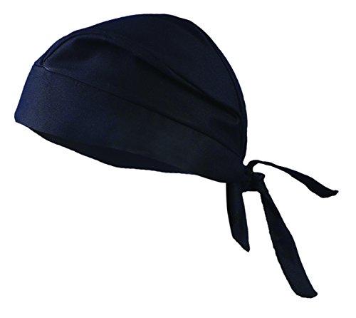 Occunomix TN5-06 Tuff Nougies Tie Hat Doo Rag, Black, 1 each