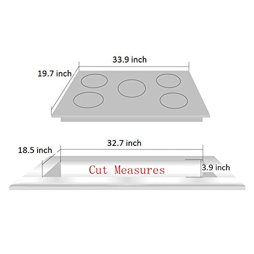 DeliKit DK258-B01 34 inch Gas Cooktops gas hob stovetop 5 burners LPG//NG Dual Fuel 5 Sealed Burners brass burner Stainless Steelr Built-In gas hob 110V AC pulse ignition gas stove