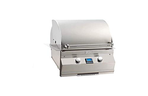 (Fire Magic Aurora A530i 24-inch Built-in Natural Gas Grill With One Infrared Burner -)