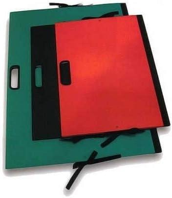 Brefiocart ordner met handgrepen en veters verschillende kleuren 50 x 30 cm