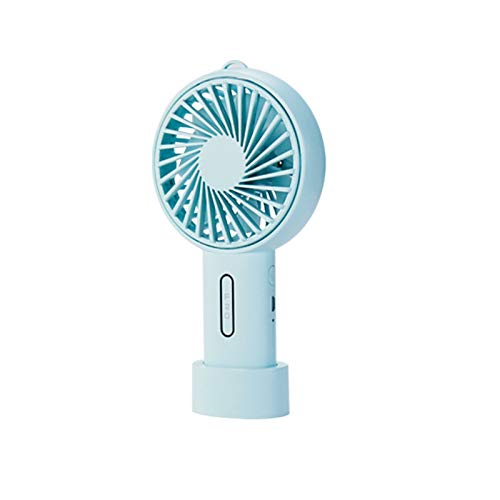 OrchidAmor Mini Portable 3-Speed Handheld USB Rechargeable Air Cooler Rotation Cooling Fan 2019 New -