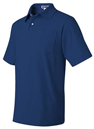 Jerzees Adult Jersey Pocket Polo with SpotShield - Royal - L