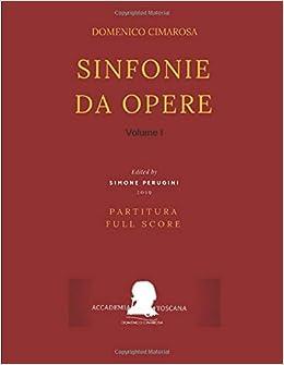 Sinfonie da opere Full Score : Partitura Volume II