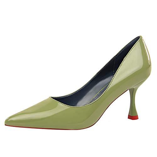 Compensées Green Sandales 5 36 DGU00499 Femme AN Vert E1R8xwCq