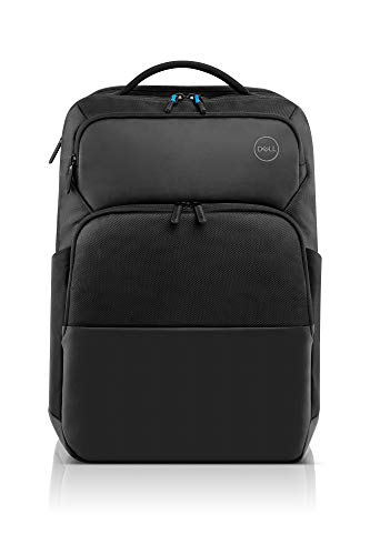 Choose Dell Pro Backpack 17 (PO1720P), Made with a More Earth-Friendly Solution-Dyeing Process Than Traditional Dyeing processes and Shock-Absorbing EVA Foam That Protects Your Laptop from Impact.