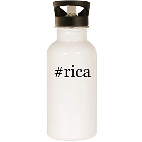 #rica - Stainless Steel 20oz Road Ready Water Bottle, White