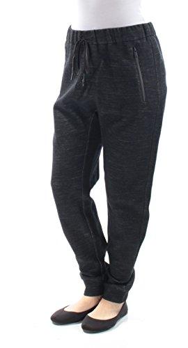 Dkny Black Wool Blend - DKNY Women's Pull On Pants, Black/Gesso, Small