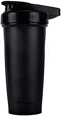 PerfectShaker Performa - Shaker Bottle, Best Leak Free Bottle with Actionrod Mixing Technology for Your Sports & Fitness Needs! Dishwasher and Shatter Proof (28/20oz)