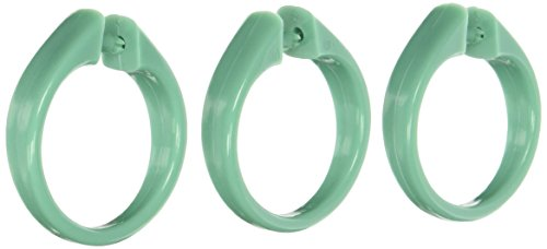 Carnation Home Fashions USCRD/06 Snap Type Plastic Shower Cu