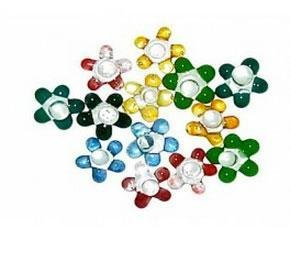 100pc Small Daisy Glass Screens by Perfect Glass