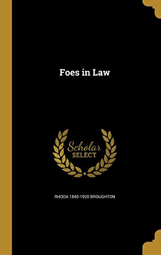 book cover of Foes in Law