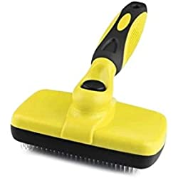 LODESTAR Pet Grooming Brushes - Dog Cat Long Thick Hair Neat Self Cleaning Slicker Brushes