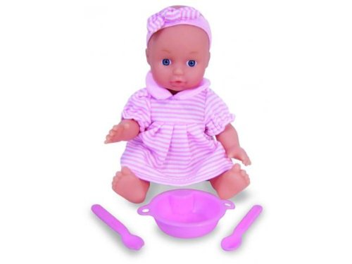 Petitcollin 18cm My Baby Twitter Doll in a Display Box 12 Piece Ovente 800165