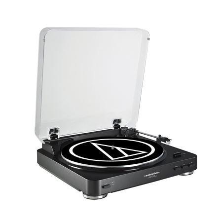 Audio-Technica ATLP60USB LP to USB Digital Belt Drive Turntable - -