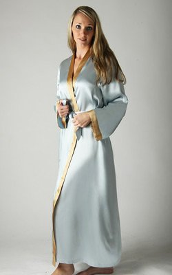 3ba325a3c0 Women Fashion and Accessories  Gorgeous Long Satin Robe