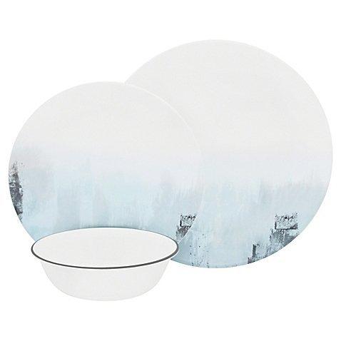 Tranquil Reflection 12-Piece Dinnerware Set