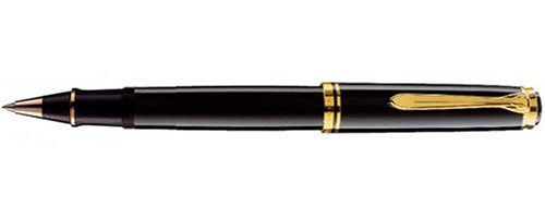 PELIKAN 800 Series Rollerball Pen, Black (997643) by Pelikan