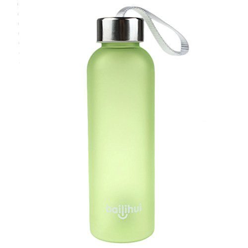 (WeLoveFamily New Leak Tight Fruit Juice Sport Portable Travel PP Bottle Water Cup 600ML)