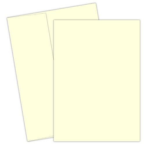 "Great Papers! Ivory Flat Cards and Envelopes, 5.5""x7.75"", 100 Count (2012093)"
