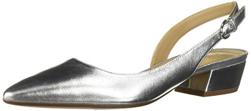 Naturalizer Women's Banks Shoe, Silver, 8.5 M US