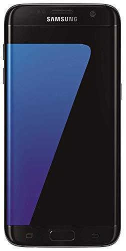 """Samsung Galaxy S7 Edge - Smartphone Android de 5.5"""" (Bluetooth v4.2, SIM única, Memoria Interna de 32 GB, NanoSIM, cámara de 12 MP, Micro-USB), Color Negro - [Importado]"""