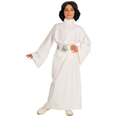 Deluxe Princess Leia Costume - (Princess Leia Halloween Costume Pattern)