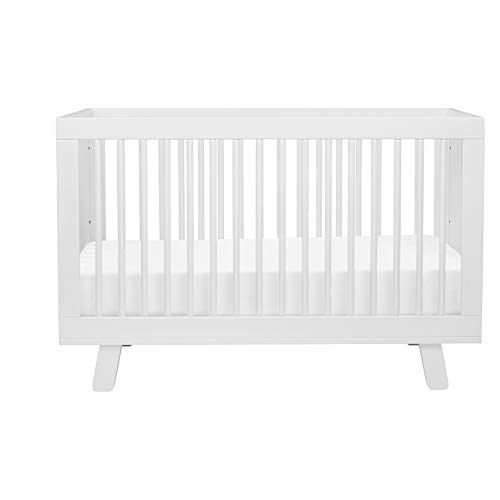 314UsUtJAoL - Babyletto Hudson 3-in-1 Convertible Crib With Toddler Bed Conversion Kit In White, Greenguard Gold Certified
