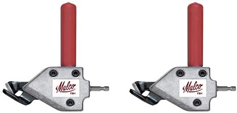 Malco TS1 Turbo Shear 20 Gauge Capacity Sheet Metal Cutting Attachment Pack of 2