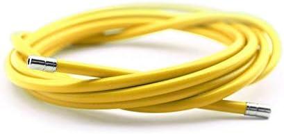 Funda Color Amarillo para Cable de Freno de Acero Laminado Sirga ...