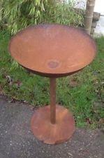 Edelrost Feuerschale Pflanzschale 70cm 2mm mit Ständer Gartendeko Metall Eisen