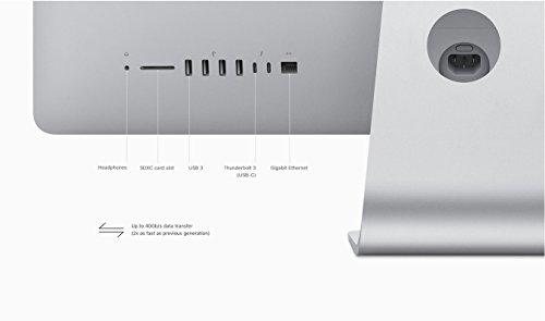 Apple iMac 27'' Desktop with Retina 5K Display (Mid 2017) - 4.2GHz Quad-Core Intel Core 7th-gen i7, 1TB SSD, 64GB 2400MHz DDR4 Memory, 8GB Radeon Pro 580 Graphics, macOS, Magic Keyboard - Spanish by Apple (Image #6)
