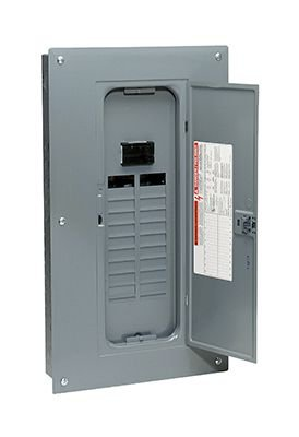 (Square D by Schneider Electric HOM2040M100PC 00 Amp 20-Space 40-Circuit Indoor Main Breaker Load Center )