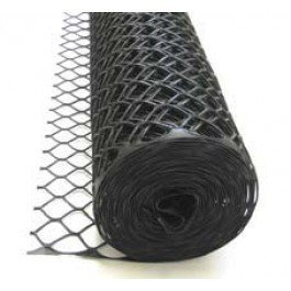 Tenax Sentry HD Safety Fence, Black, 4' x 50'