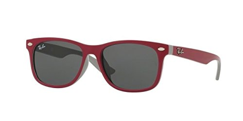 Ray-Ban RJ9052S RJ9052SF Sunglasses 177/87-50 - Topaz Red/Fuxia On Gray Frame, - Bans Red Ray Sunglasses