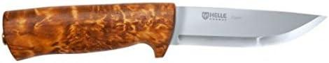 Helle Eggen Knife w Leather Case
